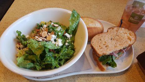 Modern Greek with Quinoa Salad + Mediterranean Veggie Sandwich