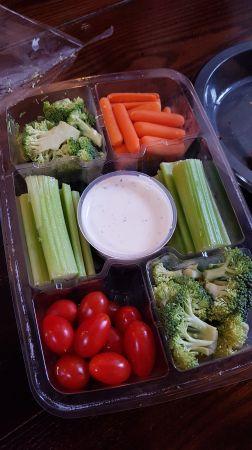 Snack de vegetales